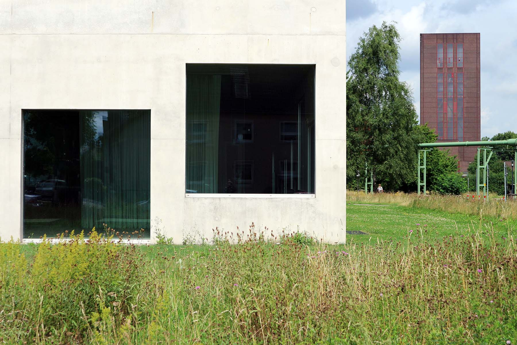 Zeche Zollverein.  ... gewann 2010 die wichtigste Architekturauszeichnung der Welt: den Pritzker Preis.