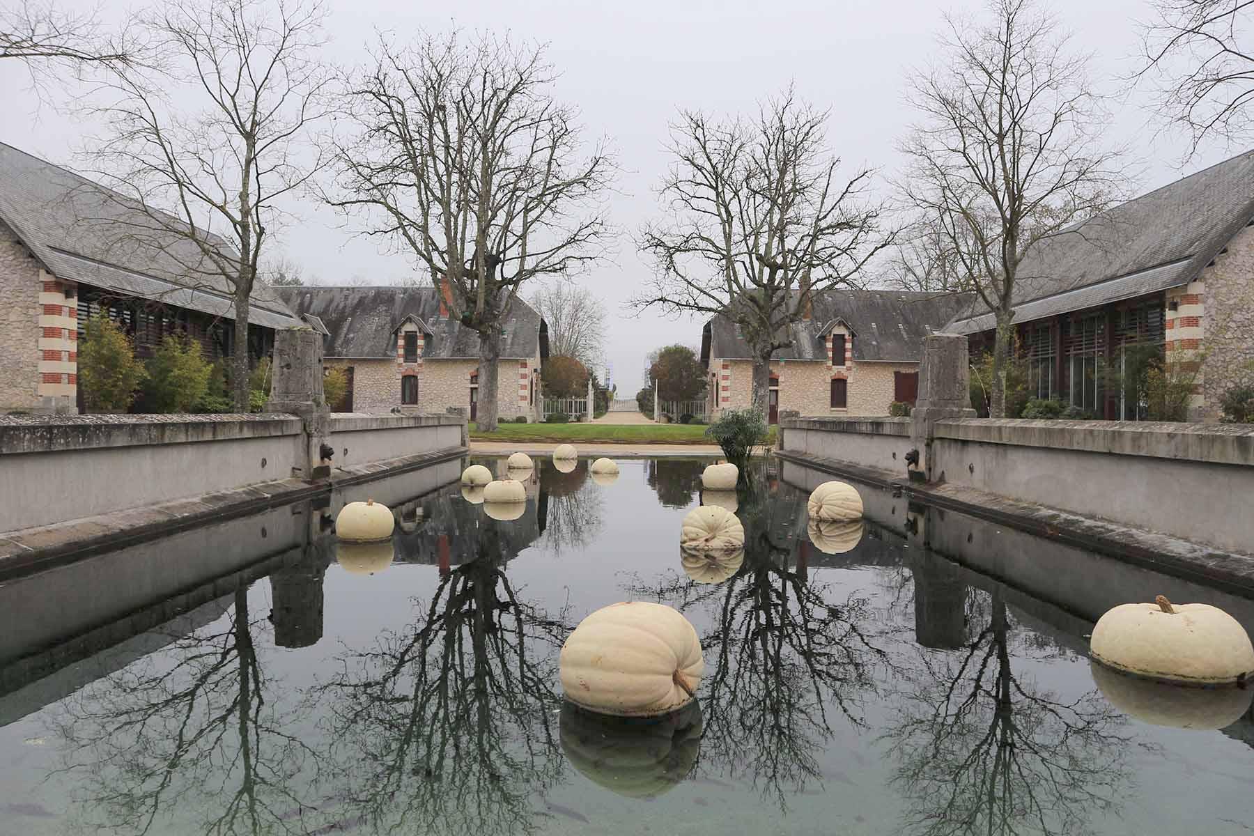 Chaumont-sur-Loire. Marie-Charlotte-Constance Say ließ die Stallungen und den Musterbauernhof des Schlossguts 1877 durch den Architekten Paul-Ernest Sanson errichten. Sie galten Ende des 19. Jahrhunderts als die luxuriösesten und modernsten Europas.