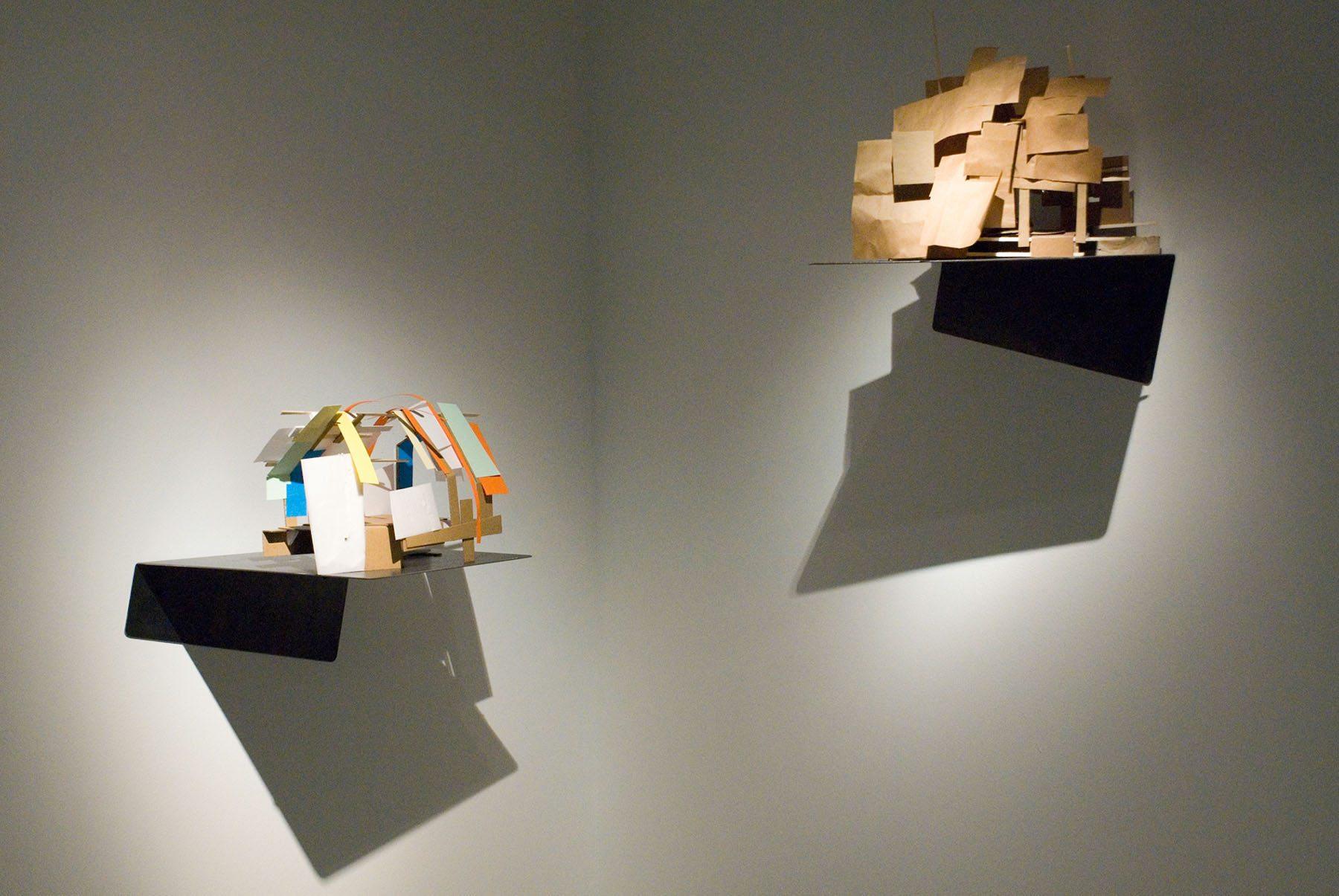 """FRAC Centre-Val de Loire. """"Série Maquettes abandonnées"""" von Mengzhi Zheng (2016-2017), Artist-in-Residence CHD Daumezon"""