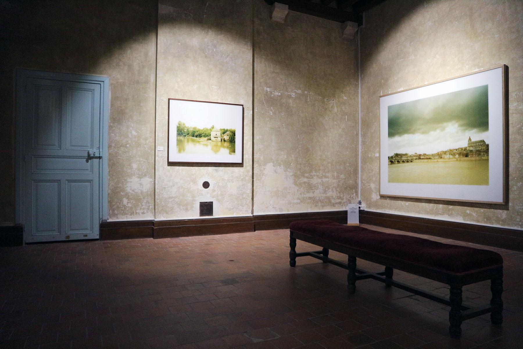 """Chaumont-sur-Loire. Mit seiner Serie """"Nil à la Loire"""" sucht der deutsch-französische Fotokünstler Elger Esser eine Verbindung der Landschaften entlang des Nils und der Loire. Das atmosphärisch und ästhetisch Dichte Werk ist im Schloss zu sehen."""