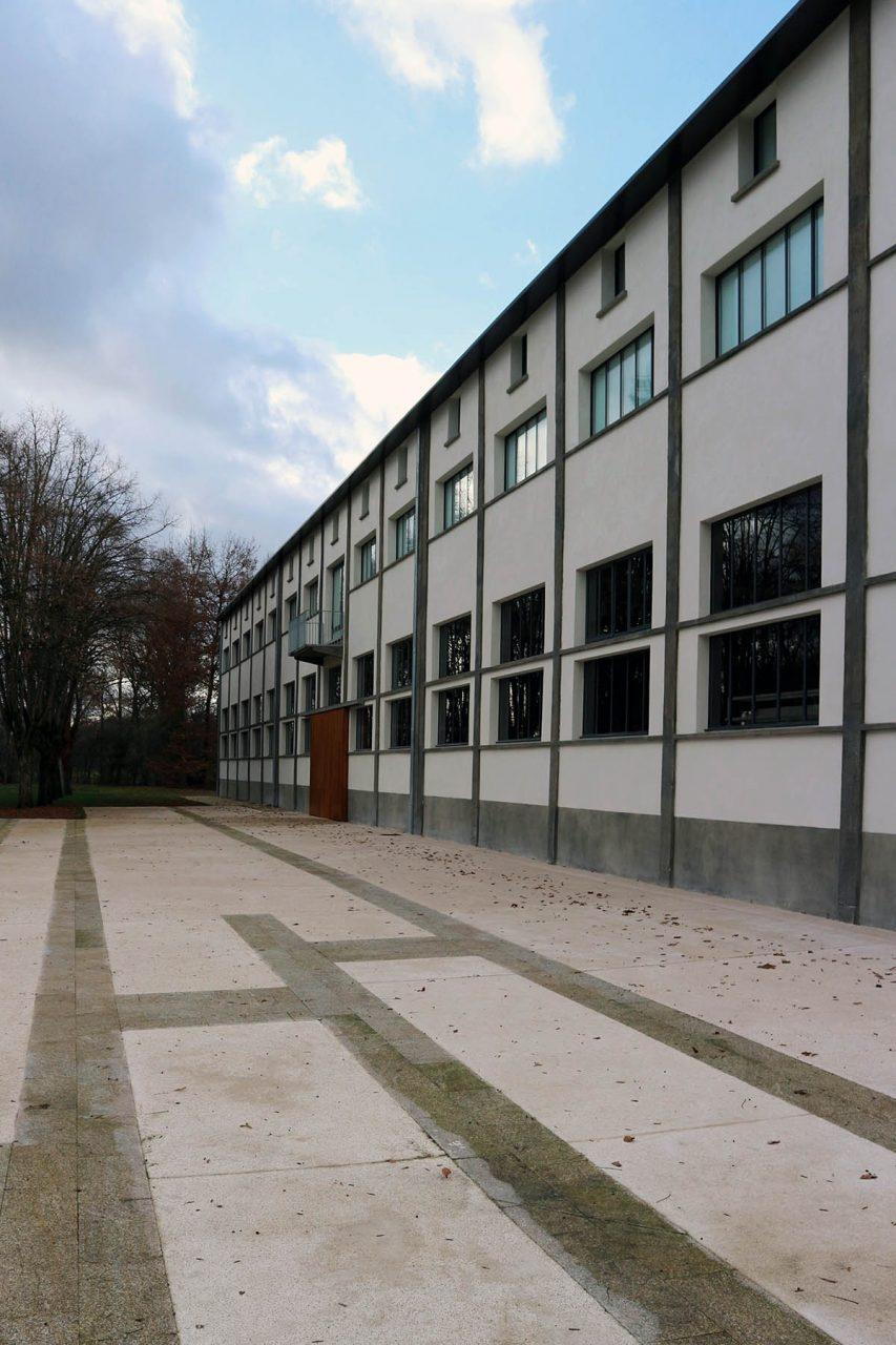 Les Tanneries – Centre d'Art Contemporain. Die Kunsthalle in Amilly ist einer der Austragungsorte außerhalb Orléans.