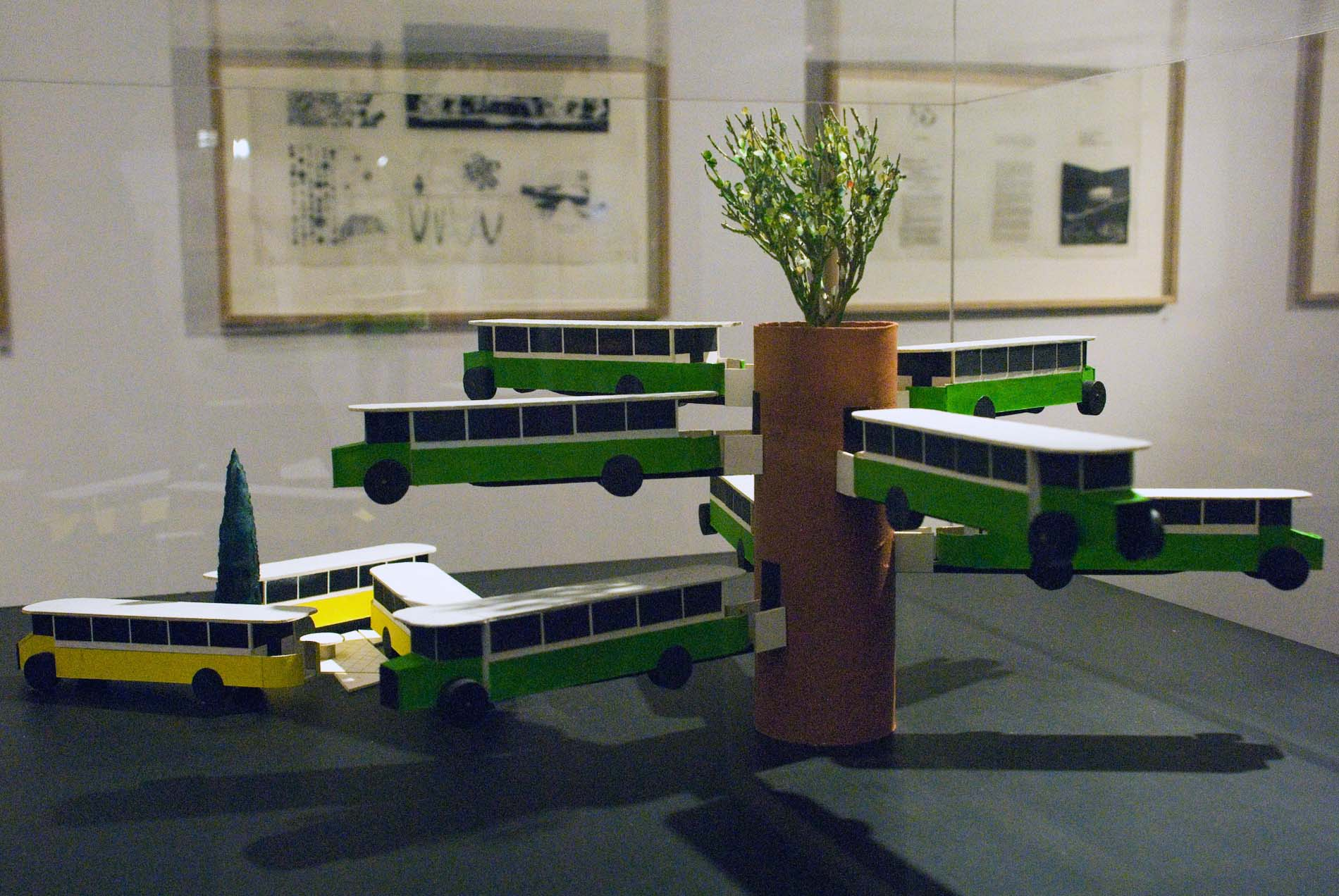 Les Tanneries. Baumhäuser aus Bussen