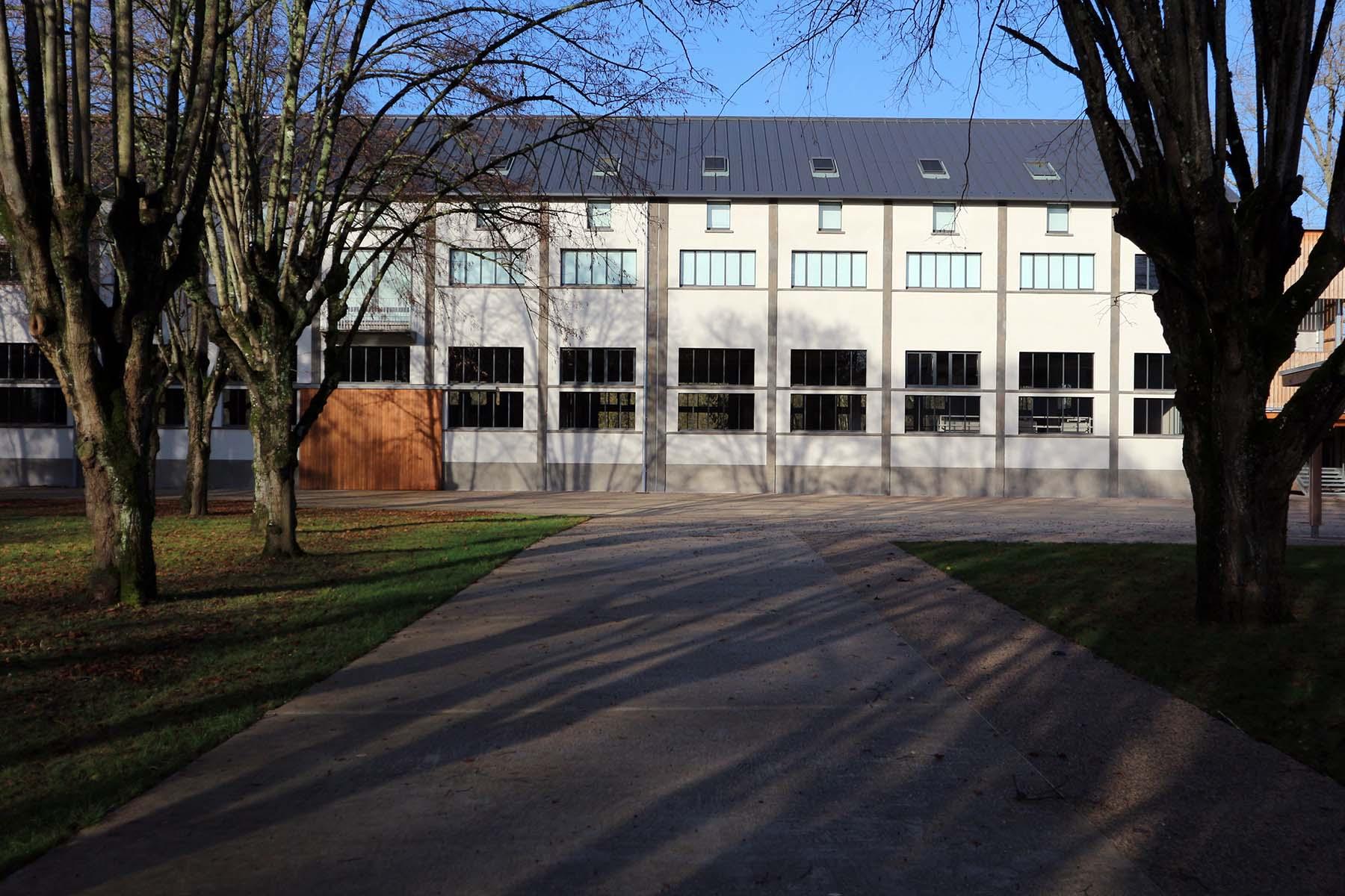 Amilly. Les Tanneries – Centre d'Art Contemporain wurde 2016 in einem ehemaligen Gerbereigebäude errichtet.