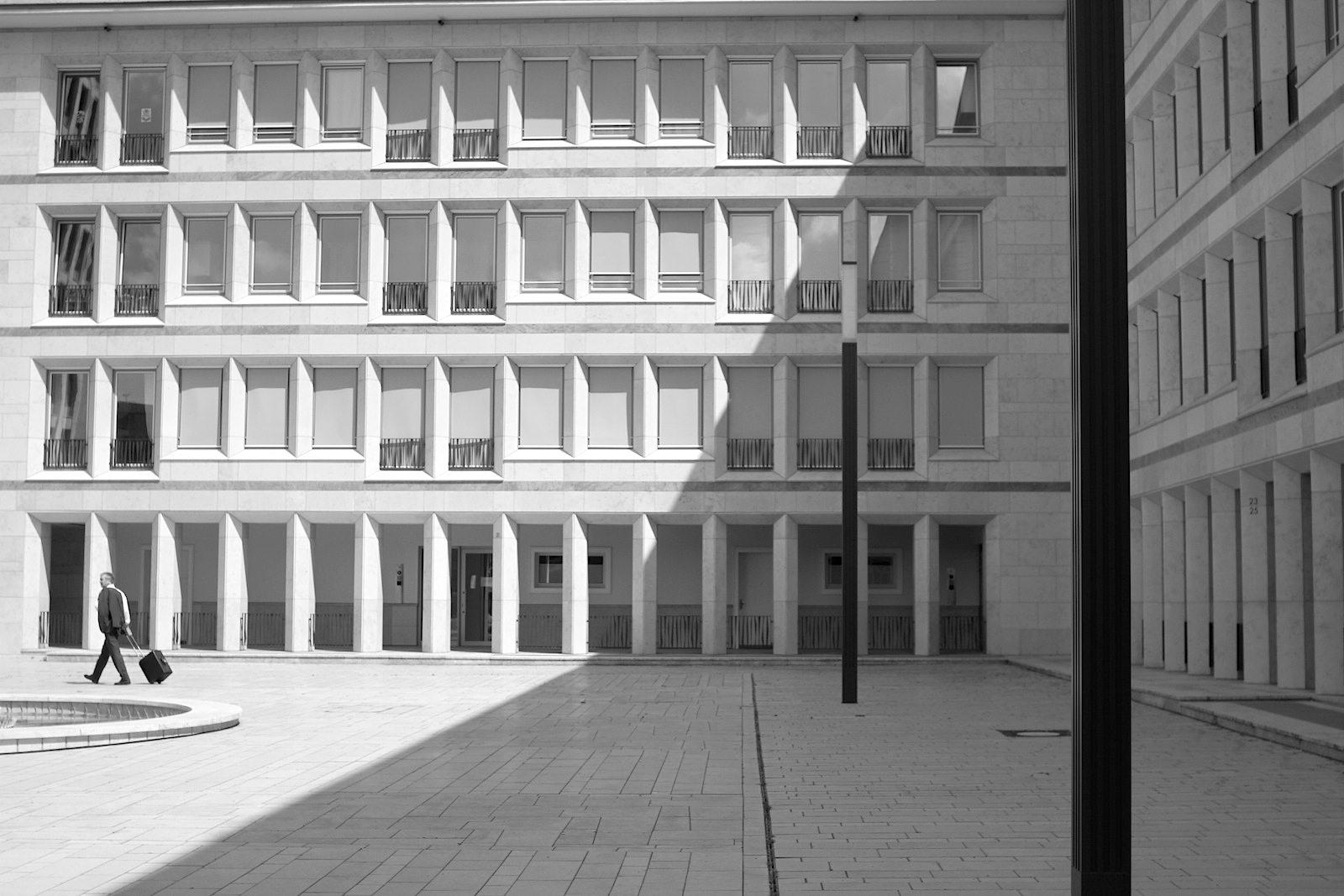Gerlingviertel. Neuklassizistische Flügelbauten von Bruno Paul, 1931 und 1937