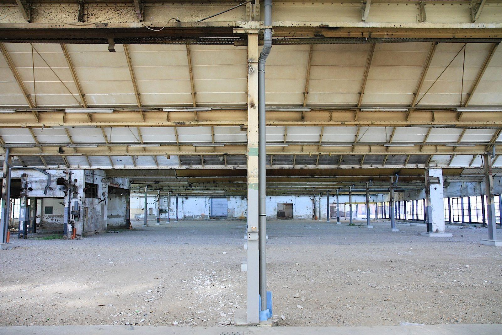 Mies van der Rohe Business Park. Es sind die einzigen Produktionsbauten, die der Architekt je geplant hat.