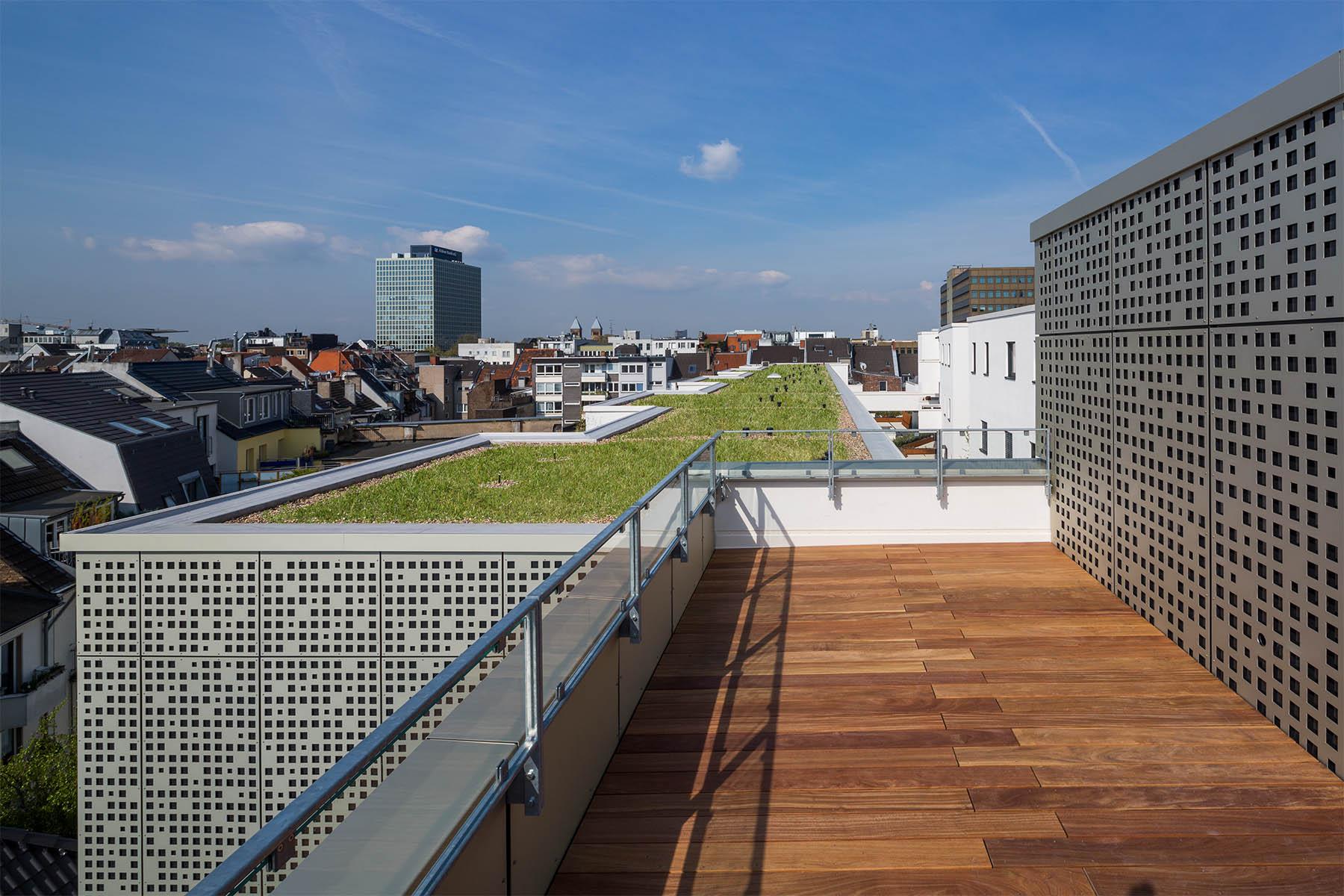 Magnus 31. Lill + Sparla Landschaftsarchitekten aus Köln waren für die Dachgestaltung verantwortlich.