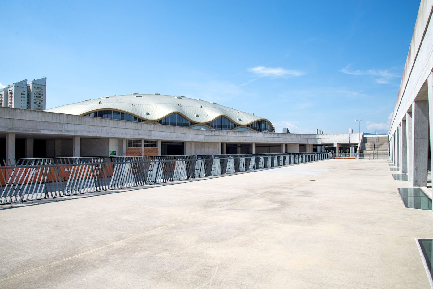 Sportpark Stožice. Eines der ersten Projekte des Büros Sadar + Vuga ...