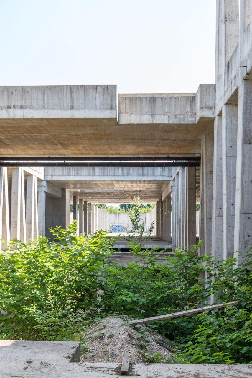 Sportpark Stožice. Planungen ohne größere bauliche Eingriffe in die Betonkonstruktionen
