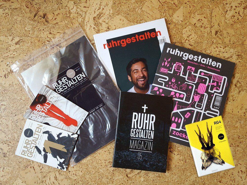 Ruhrgestalten.  Erschien von 2010 bis 2013 als Printmagazin, danach als Onlinepublikation