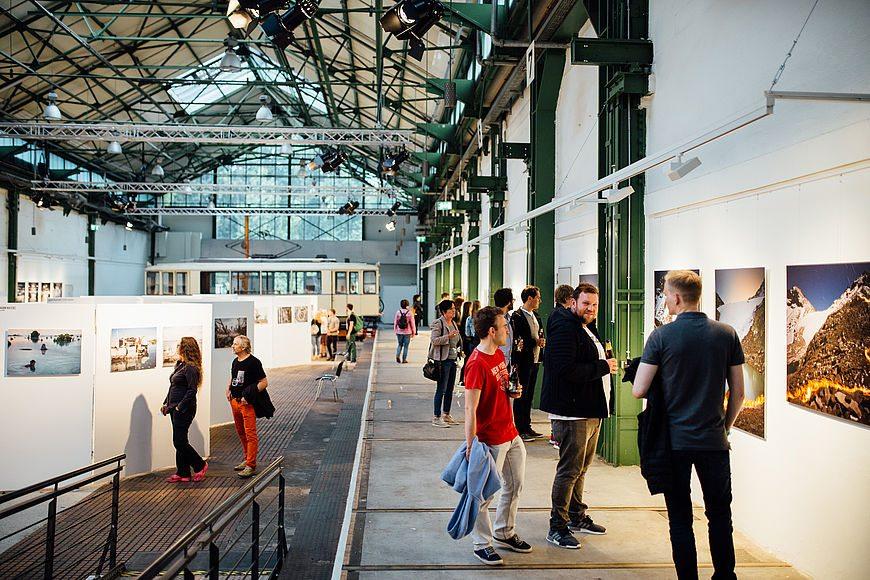 Depot Dortmund.  Das als Straßenbahnwerkstatt von den Architekten Karl Pinno und Phillip Bachmann entworfene Gebäude ist heute ein Kultur- und Kunstzentrum und Teil der Route der Industriekultur.