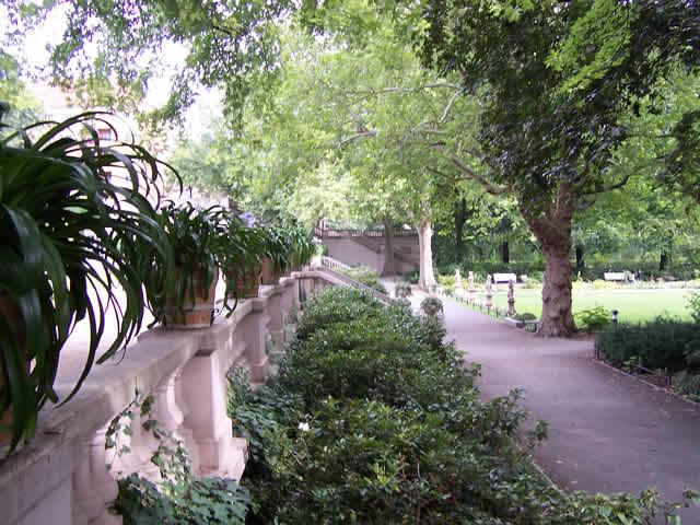 Körnerpark, Berlin-Neukölln.  2,4 Hektar große Parkanlage