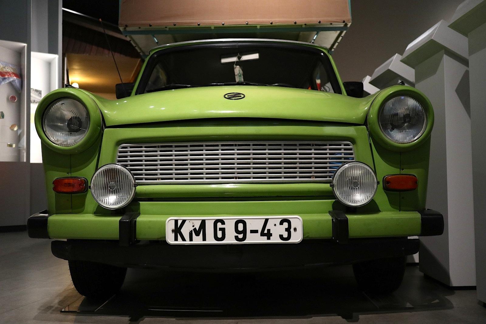 Museum in der Kulturbrauerei. Fehlt in keinem Mauer- und DDR-Museum: ein Trabant.