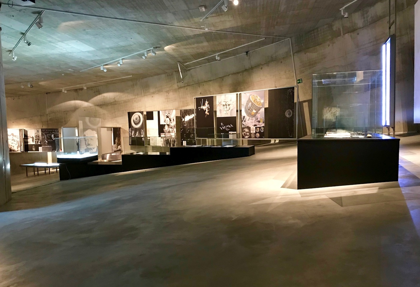 KSEVT. Ausstellungsspirale