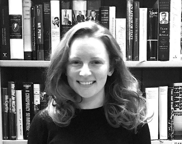 Portrait von Molly O'Laughlin, Übersetzerin und Autorin