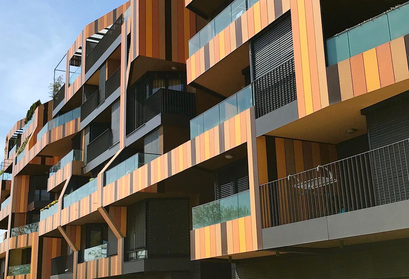 """Nova Gorica. """"Lace Apartments"""" von Ofis Arhitekti, 2008"""