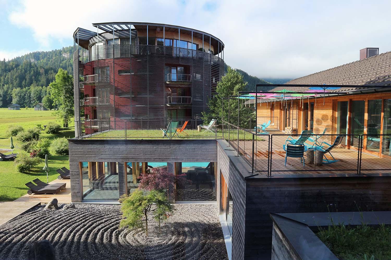 """Hotel Gams. Auf 2.000 Quadratmetern erstreckt sich das """"Da Vinci Spa"""" mit ..."""