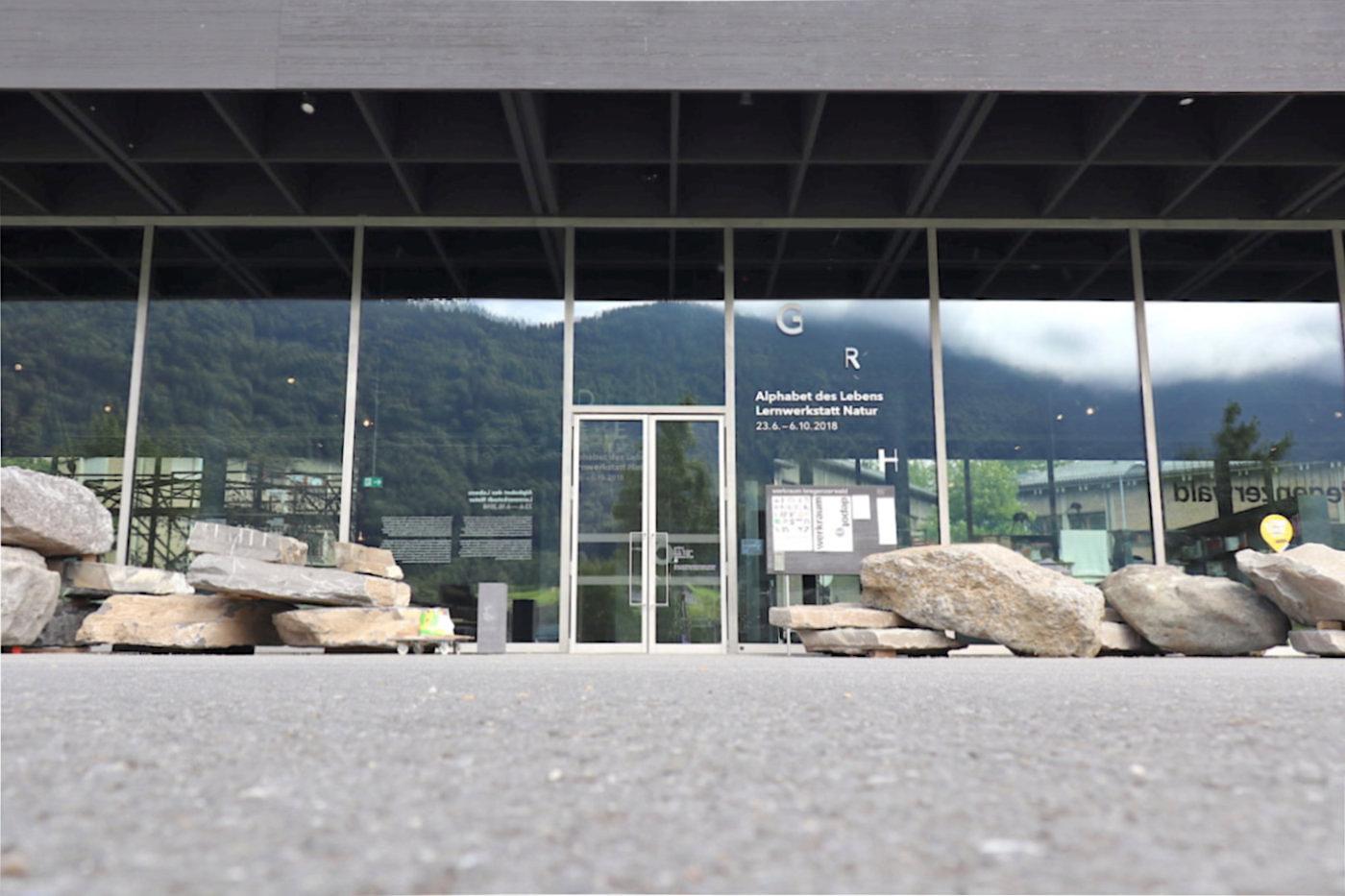 Werkraum Bregenzerwald. Nutzfläche: Erdgeschoss 764 m², Keller 786 m²