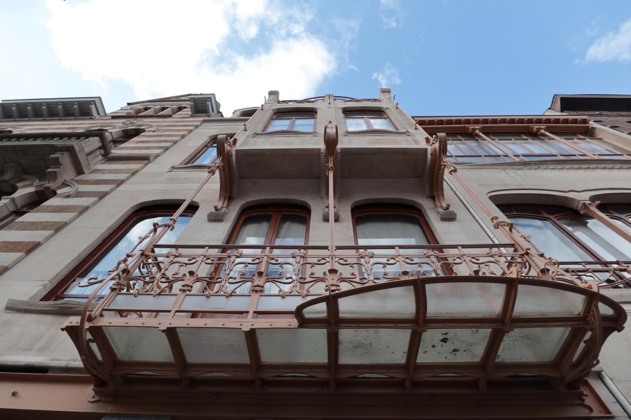 Horta Museum. ist seit 2000 Teil des UNESCO-Weltkulturerbes –zusammen mit den anderen Hortabauten Hotel Tassel, Hotel Solvay und Hotel van Eetvelde.