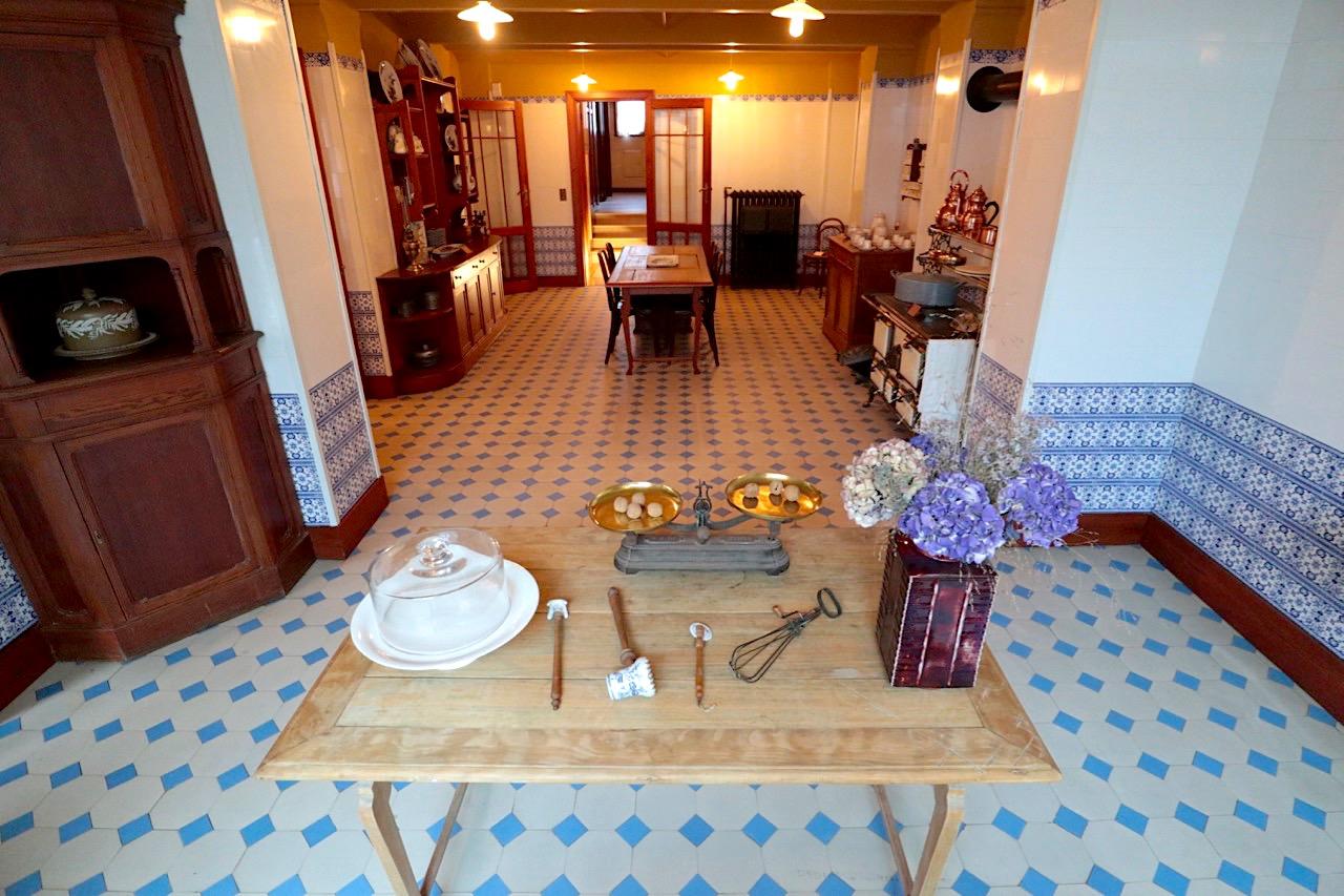 Horta Museum. Die Küche