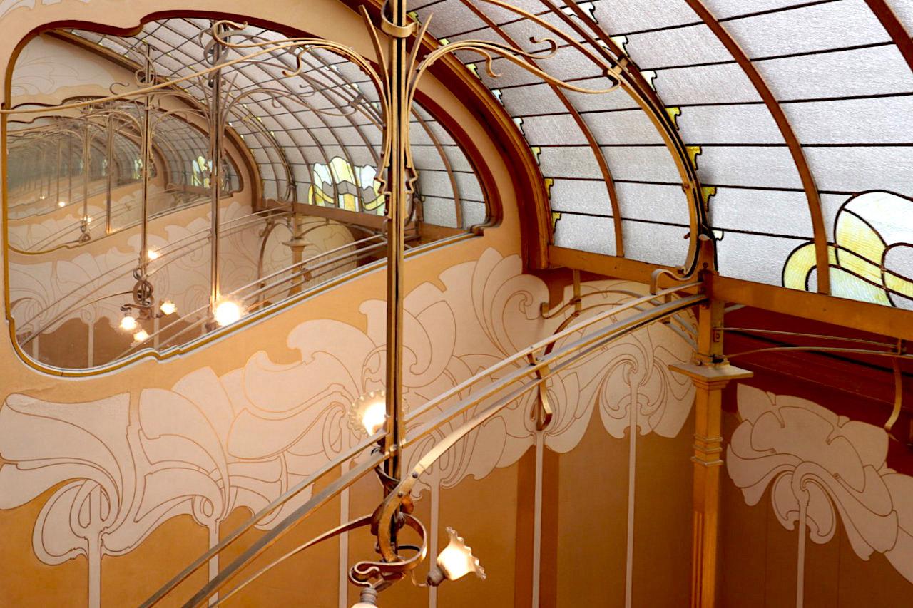 Horta Museum. Das Oberlicht