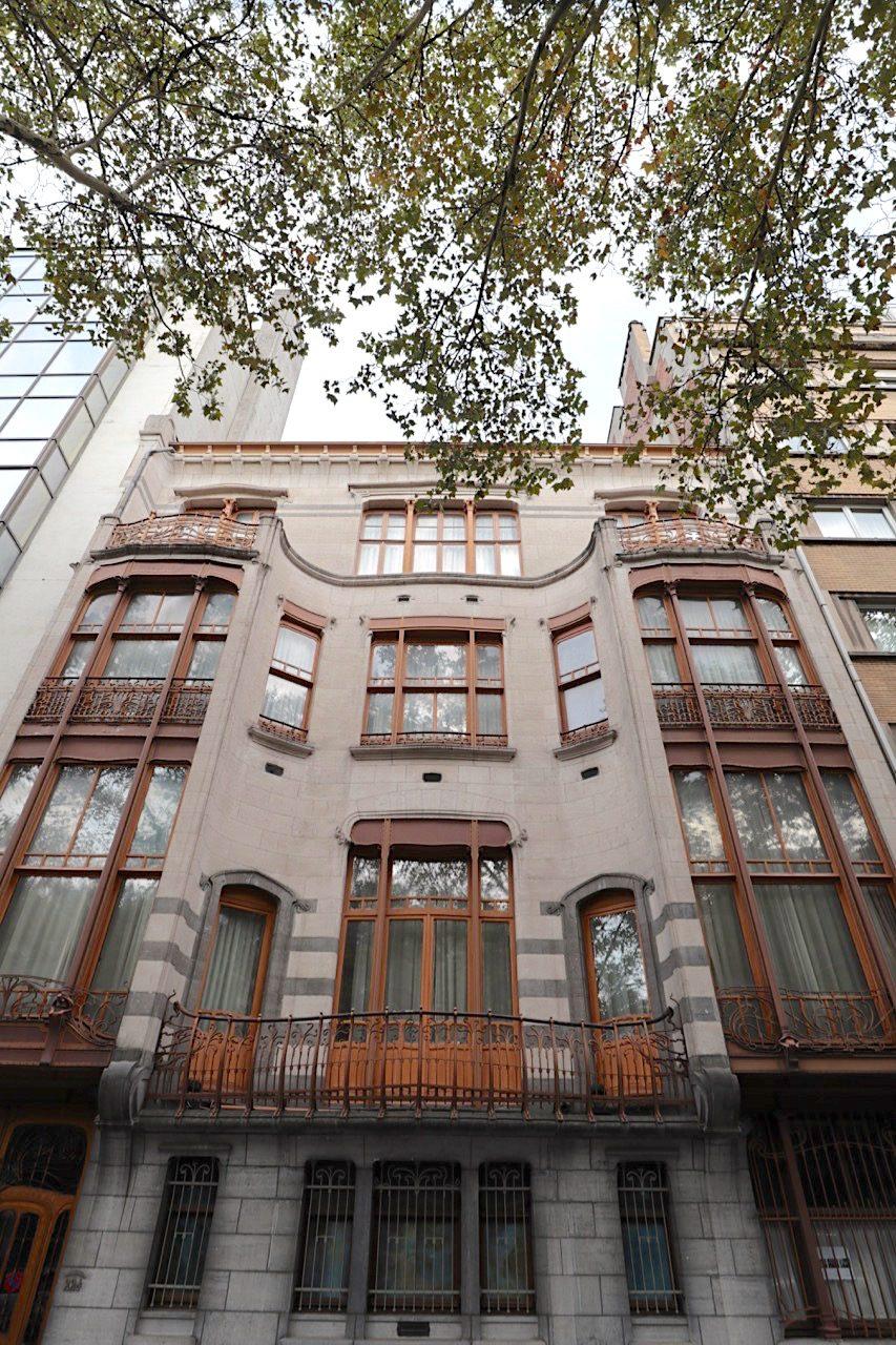 Hotel Solvay. Architekt: Victor Horta, Fertigstellung: 1900