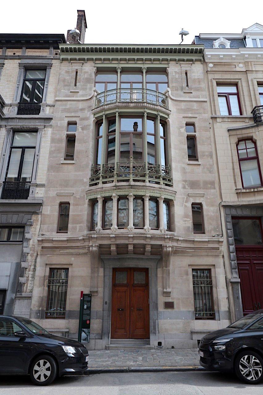 Hotel Tassel. Architekt: Victor Horta, Fertigstellung: 1894