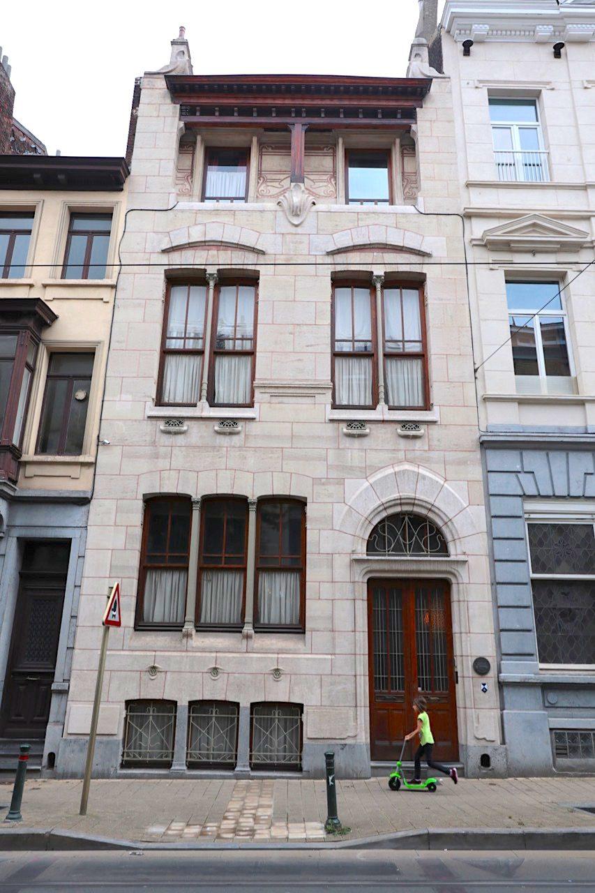 Maison Autrique. Architekt: Victor Horta, Fertigstellung: 1893