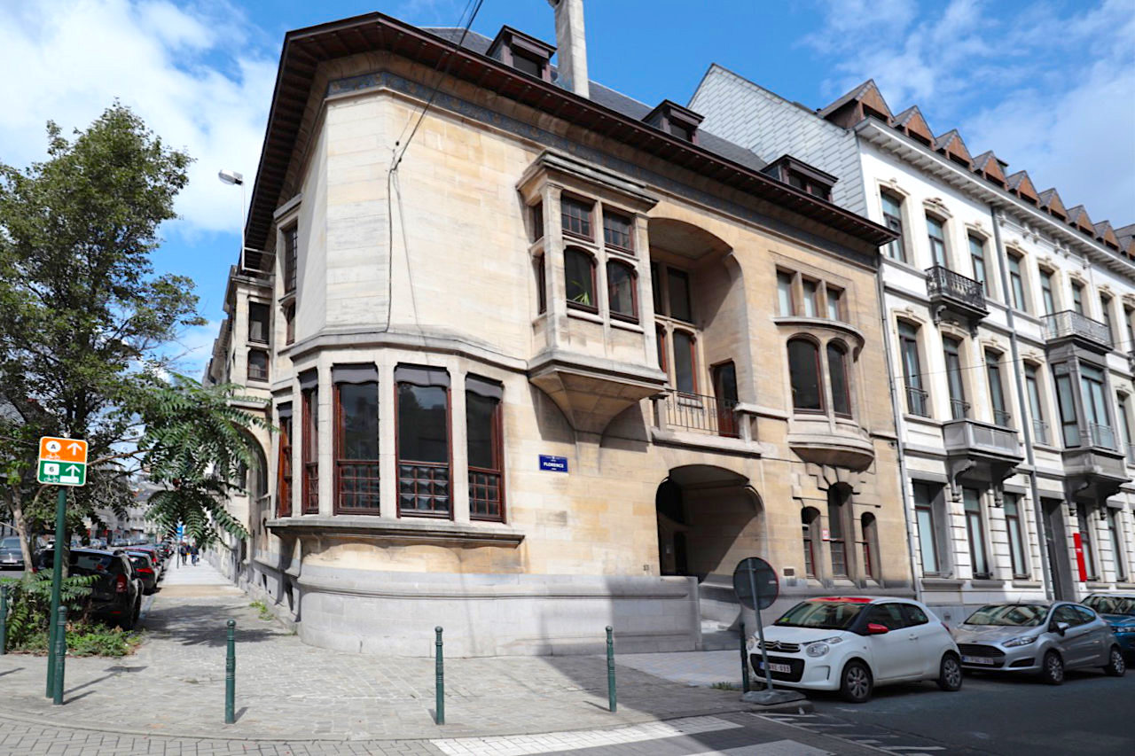 Maison Otlet. Architekt: Octave van Rysselberghe, Innengestaltung: Henry van de Velde. Fertigstellung: 1894
