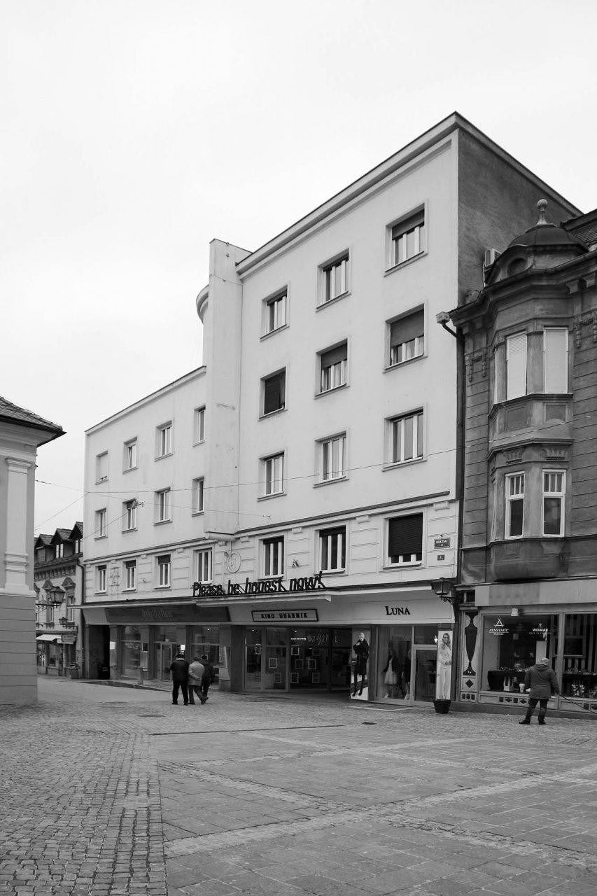 Kino Udarnik. von Vladimir Šubic, Fertigstellung: 1935.