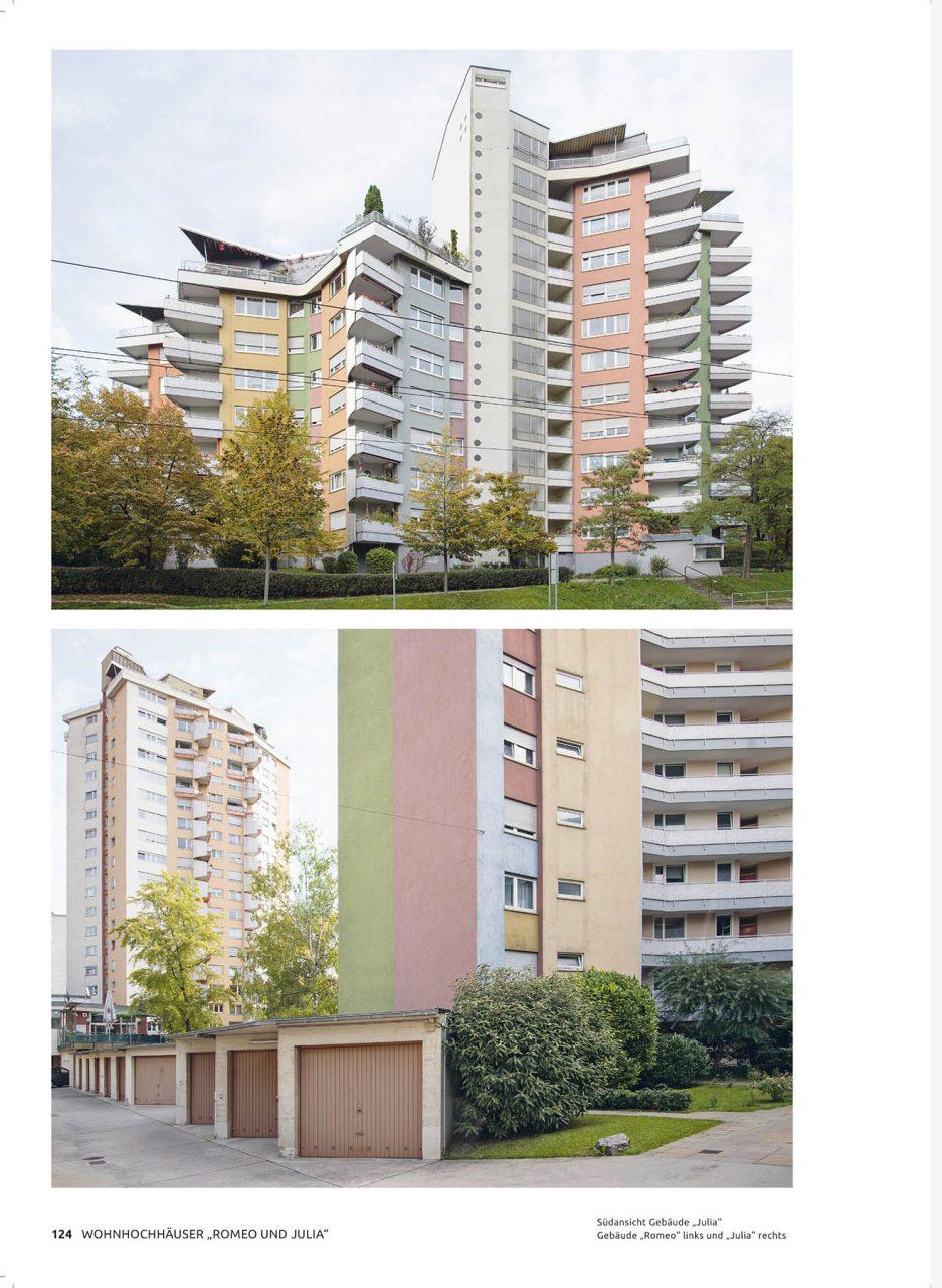 """Hans Scharoun – Bauten und Projekte. Wohnhochhäuser """"Romeo & Julia"""" in Stuttgart (1954–1959)"""