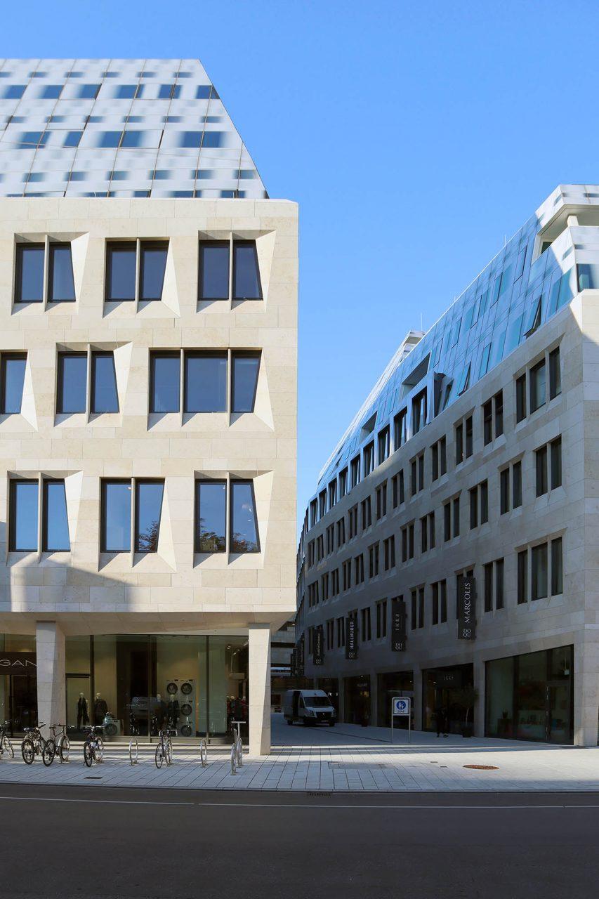 Dorotheen Quartier. Behnisch Architekten wurde 1989 von Stefan Behnisch gegründet und ...