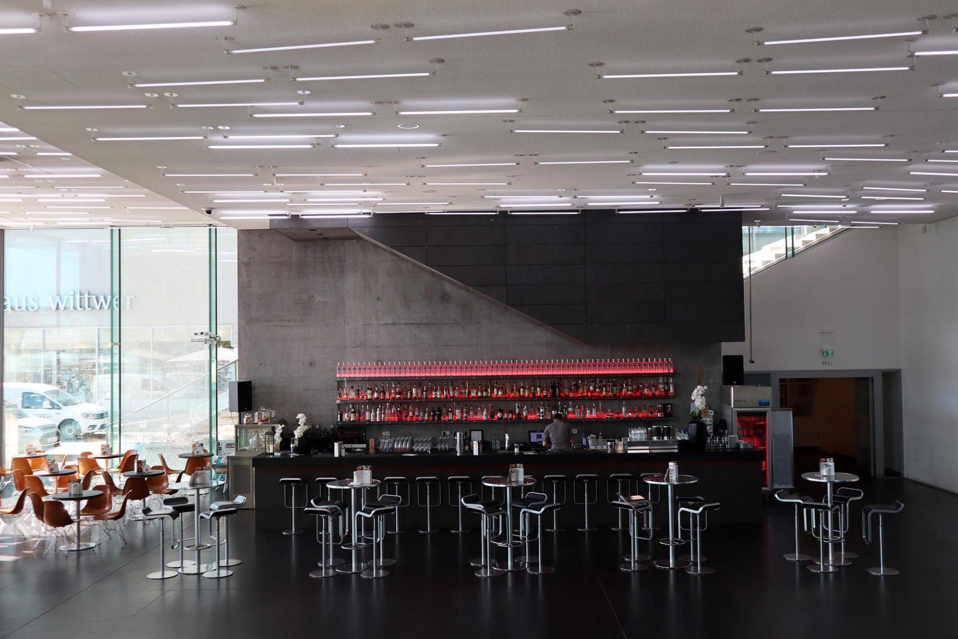 Kunstmuseum. Er macht 20 Prozent der gesamten Ausstellungsfläche aus.