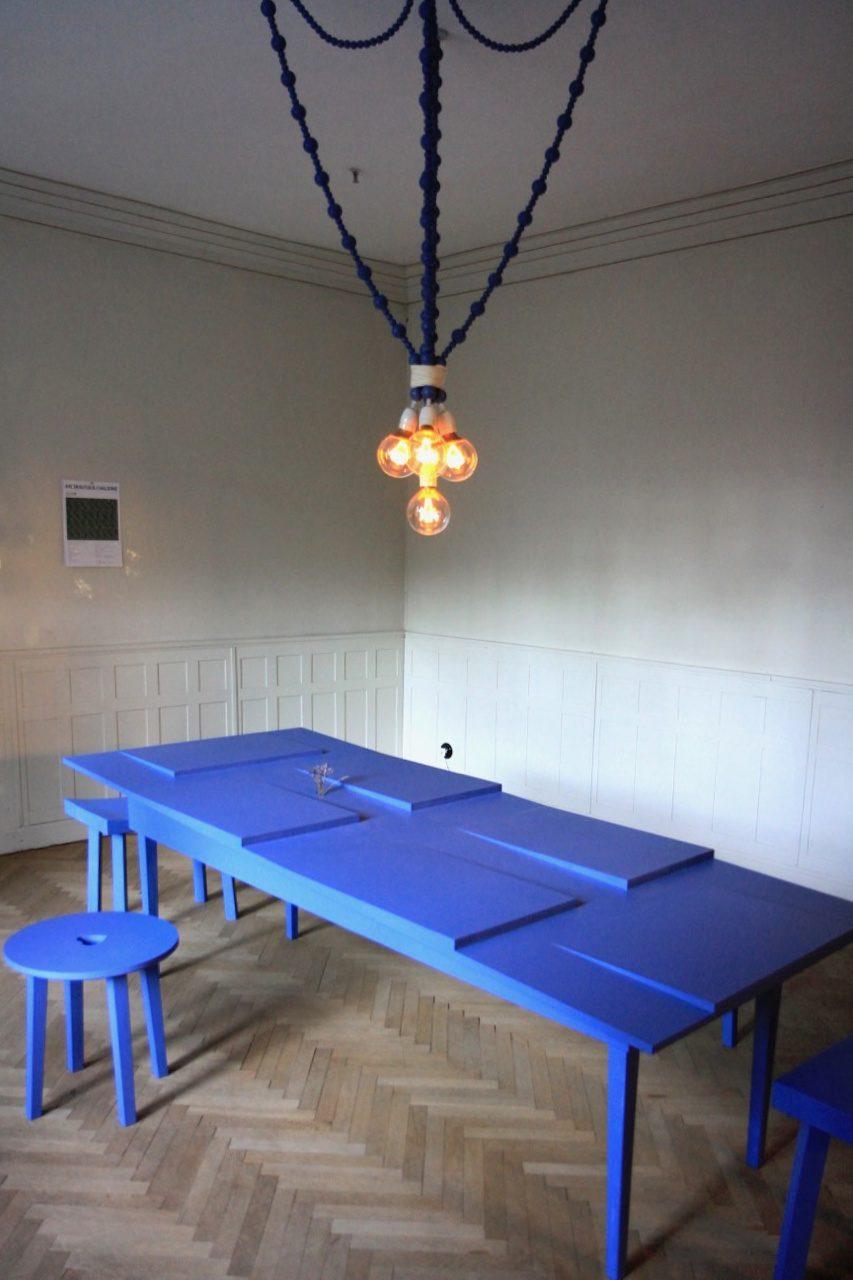 """Villa Jurkovič. Die temporäre Ausstellung """"Being Dušan Jurkovič"""" von A1 Architekten ist noch bis April 2019 zu sehen."""