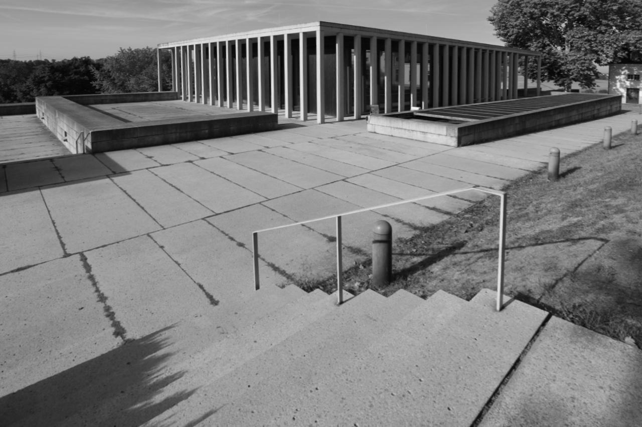 Literaturmuseum der Moderne. Entwurf: David Chipperfield Architects, Fertigstellung: 2006.