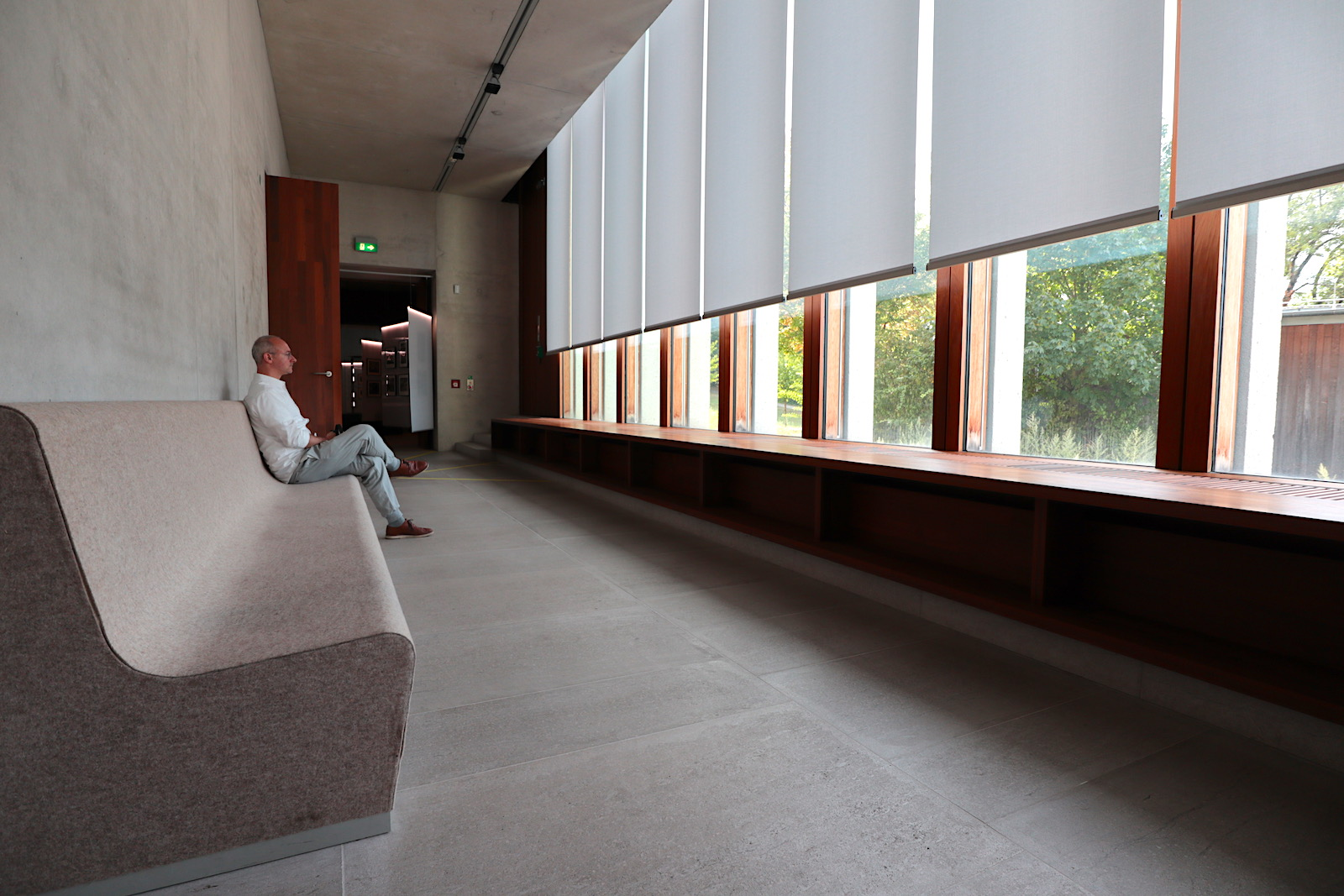 Literaturmuseum der Moderne. Luft und Loggia