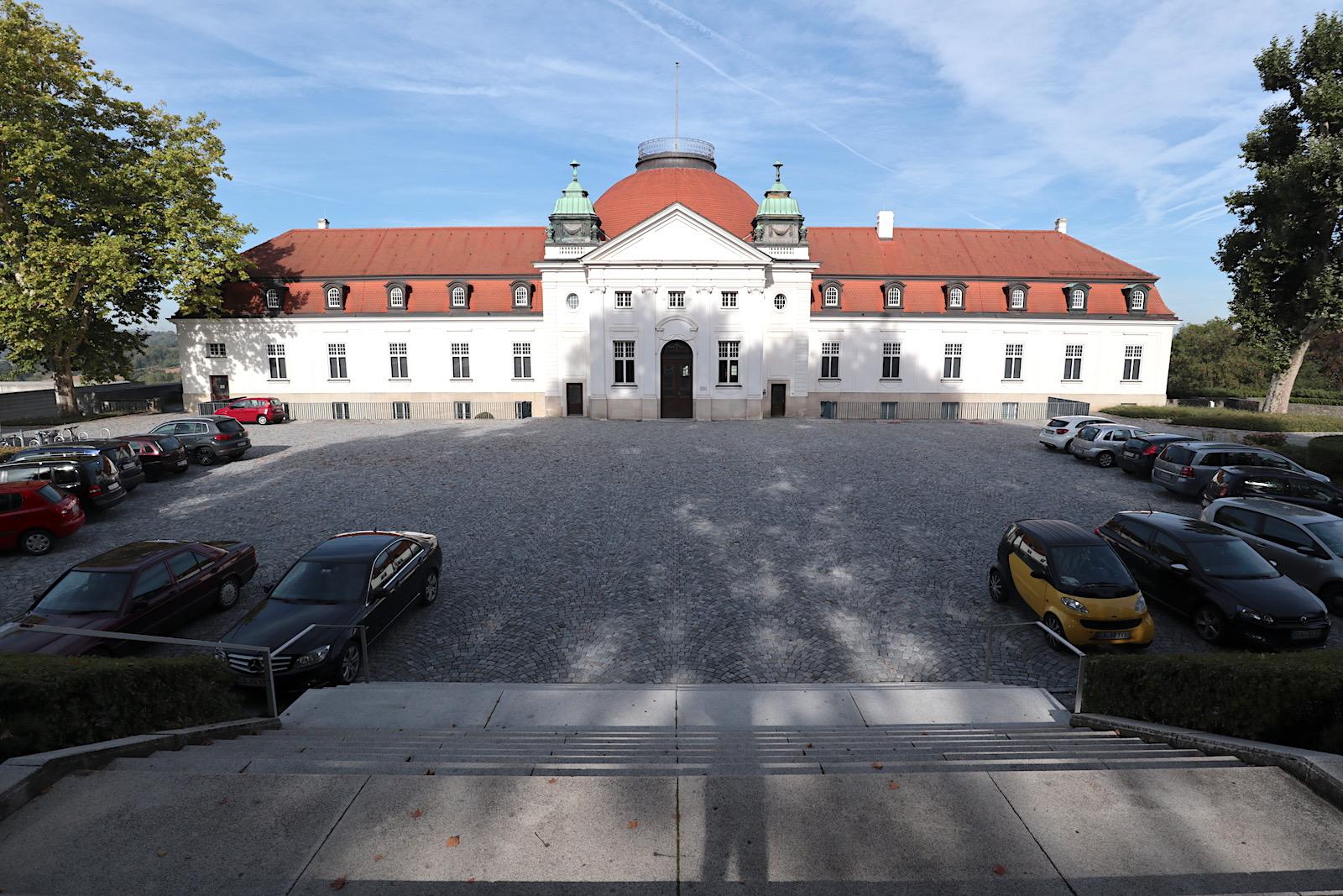 Schiller-Nationalmuseum. Entwurf: Ludwig Eisenlohr und Carl Weigle, Fertigstellung: 1903.