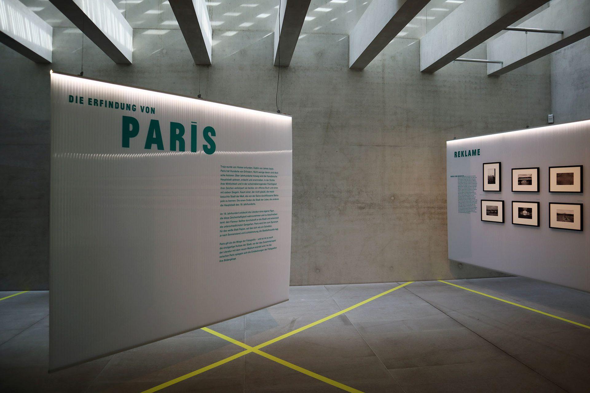 Literaturmuseum der Moderne. Wechselausstellungen sind Teil des Konzepts
