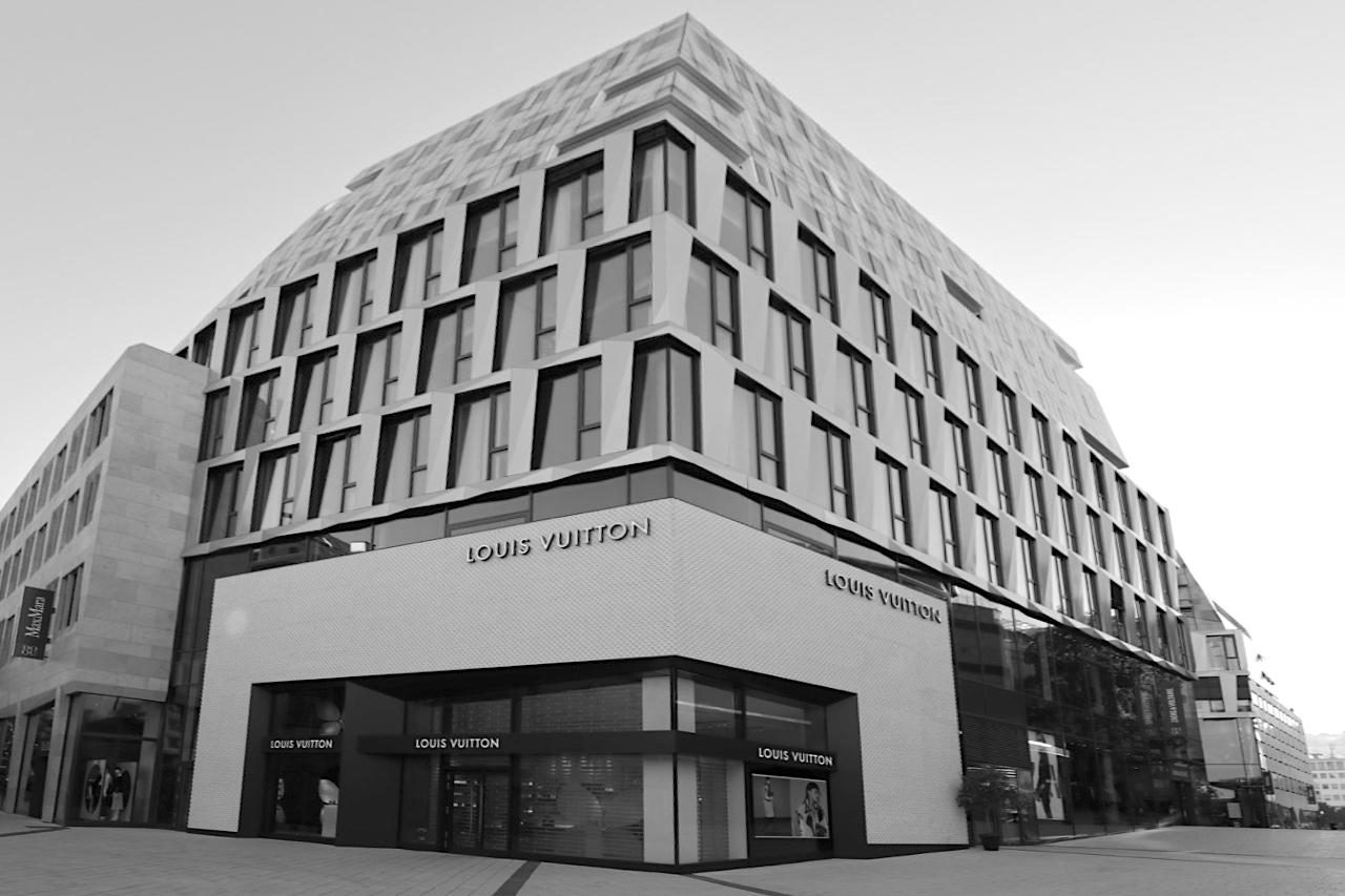Dorotheen Quartier. Entwurf: Behnisch Architekten, Fertigstellung: 2017.