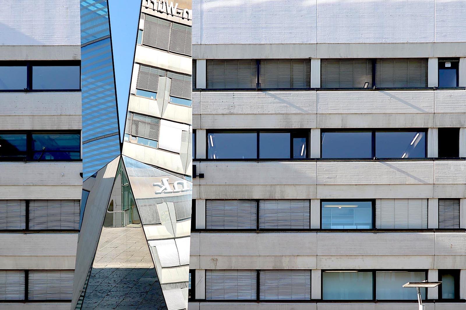 Ein kessel k hnes stuttgart deutschland the link - Postmoderne architektur ...