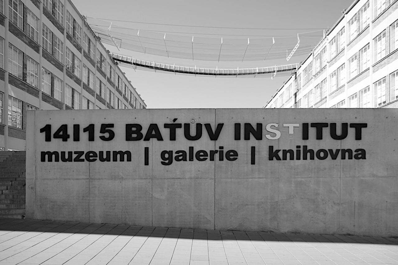 14|15 Bata Institut. ... von 1946–1949 auf dem Fabrikareal gebaut wurden.