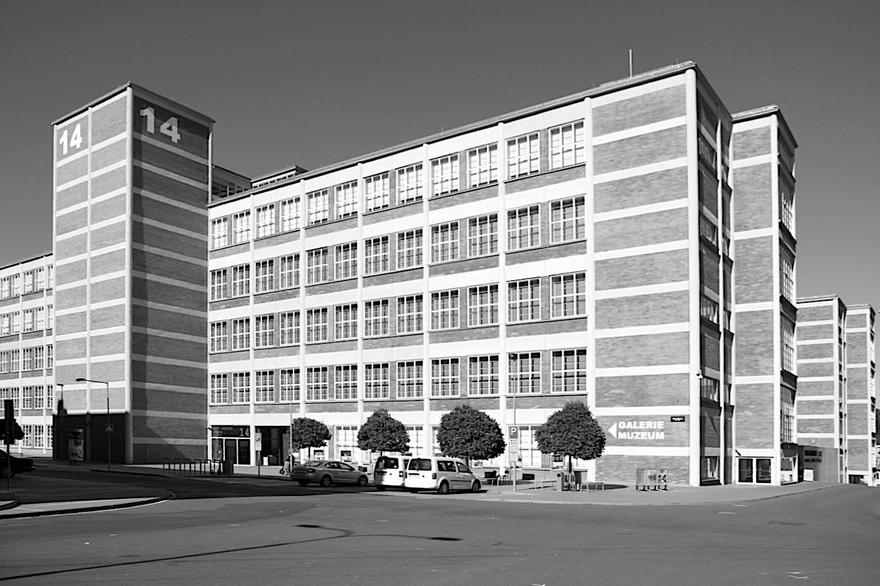 14|15 Bata Institut. Das Institut enstand aus zwei Werksgebäuden, die ...