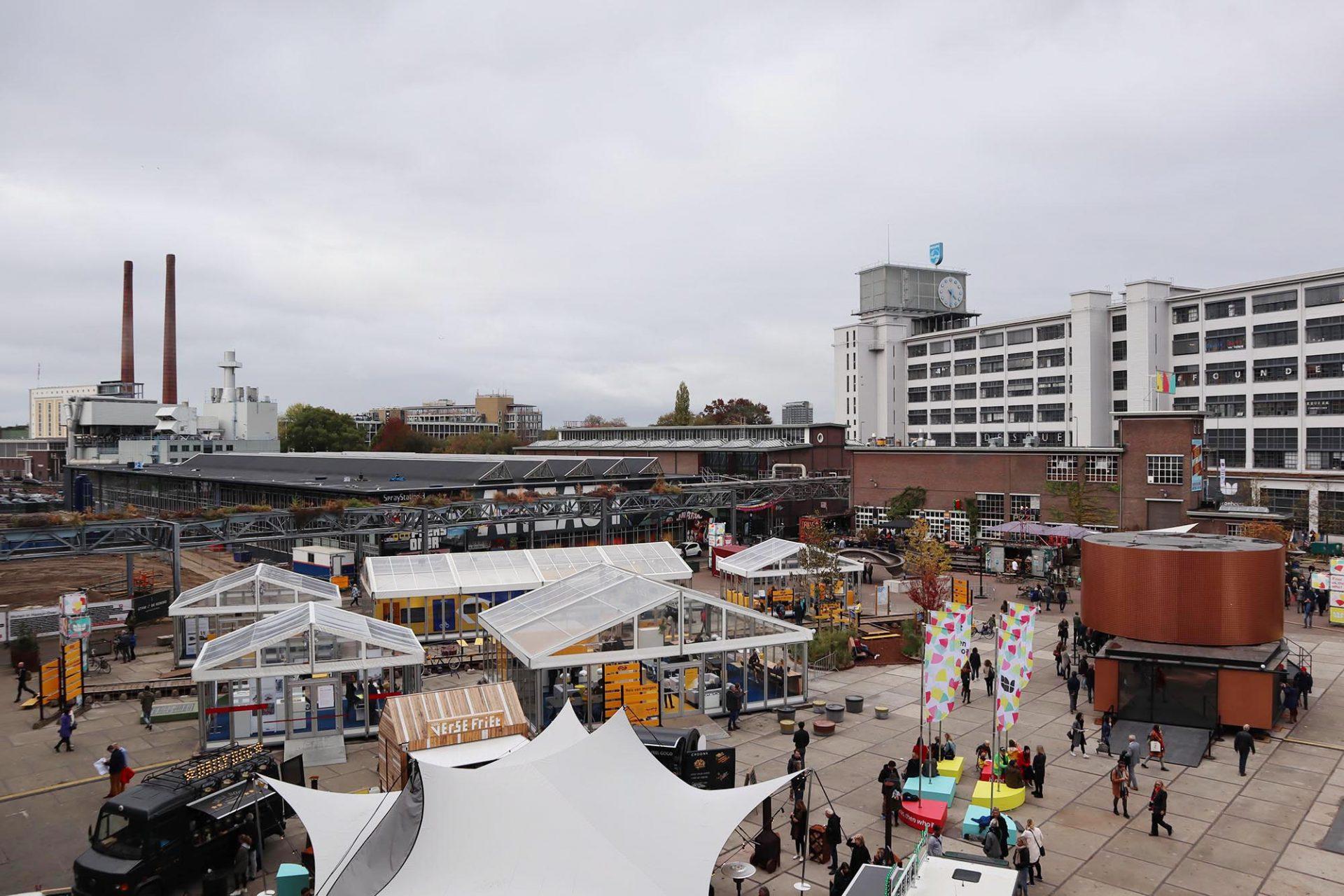 Strijp-S. In dem Eindhovener Stadtquartier ist das Herz der Dutch Design Week.