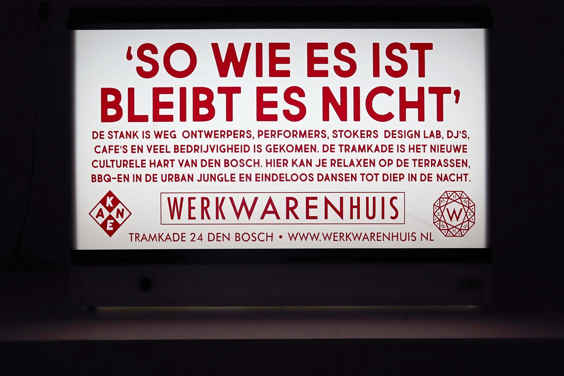 Werkwarenhuis Social Label. Ein zukunftsweisendes Projekt