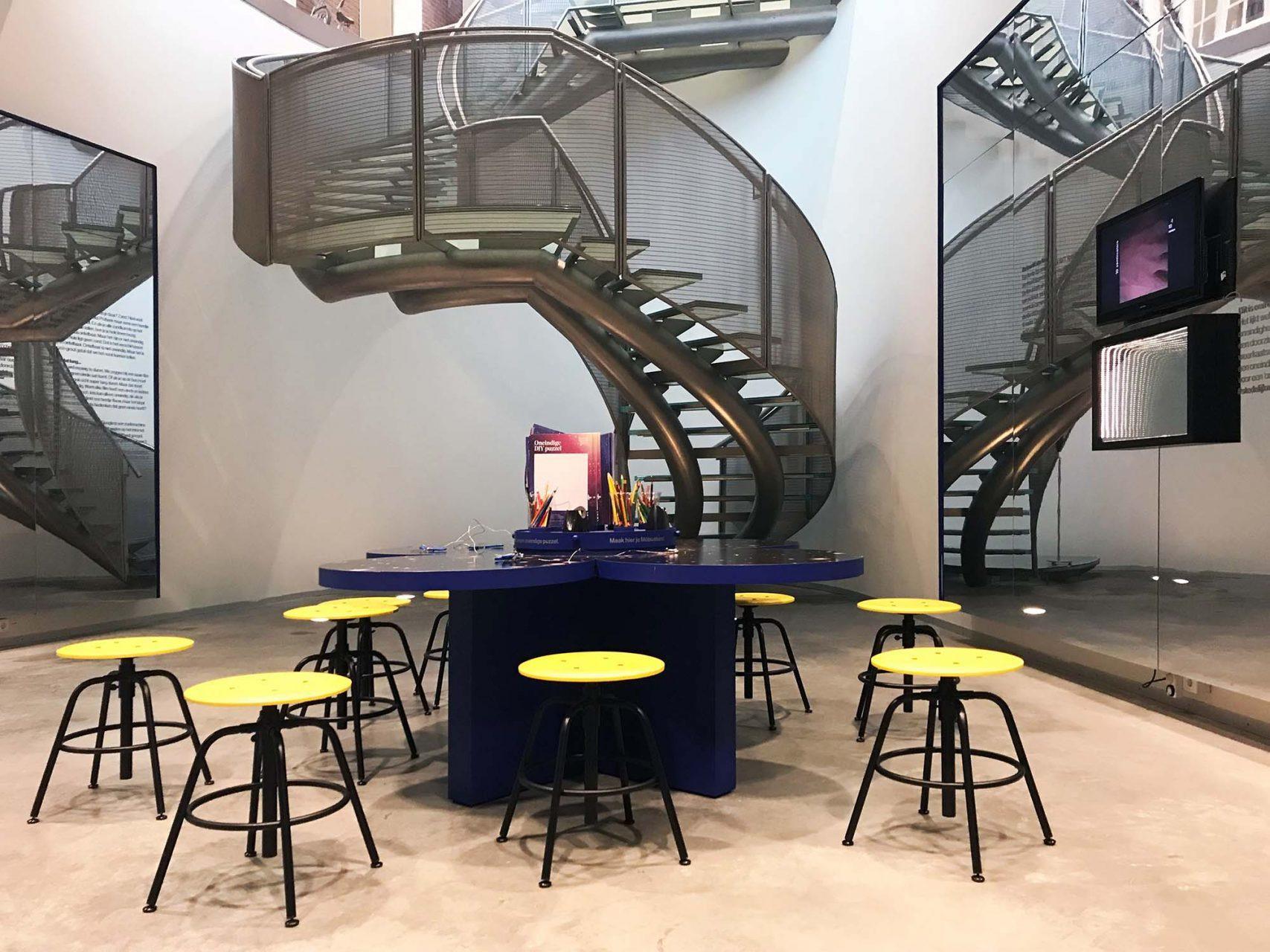 Stedelijk Museum Breda. Kern des Museums ist die Lernwerkstatt für Kinder und Jugendliche.