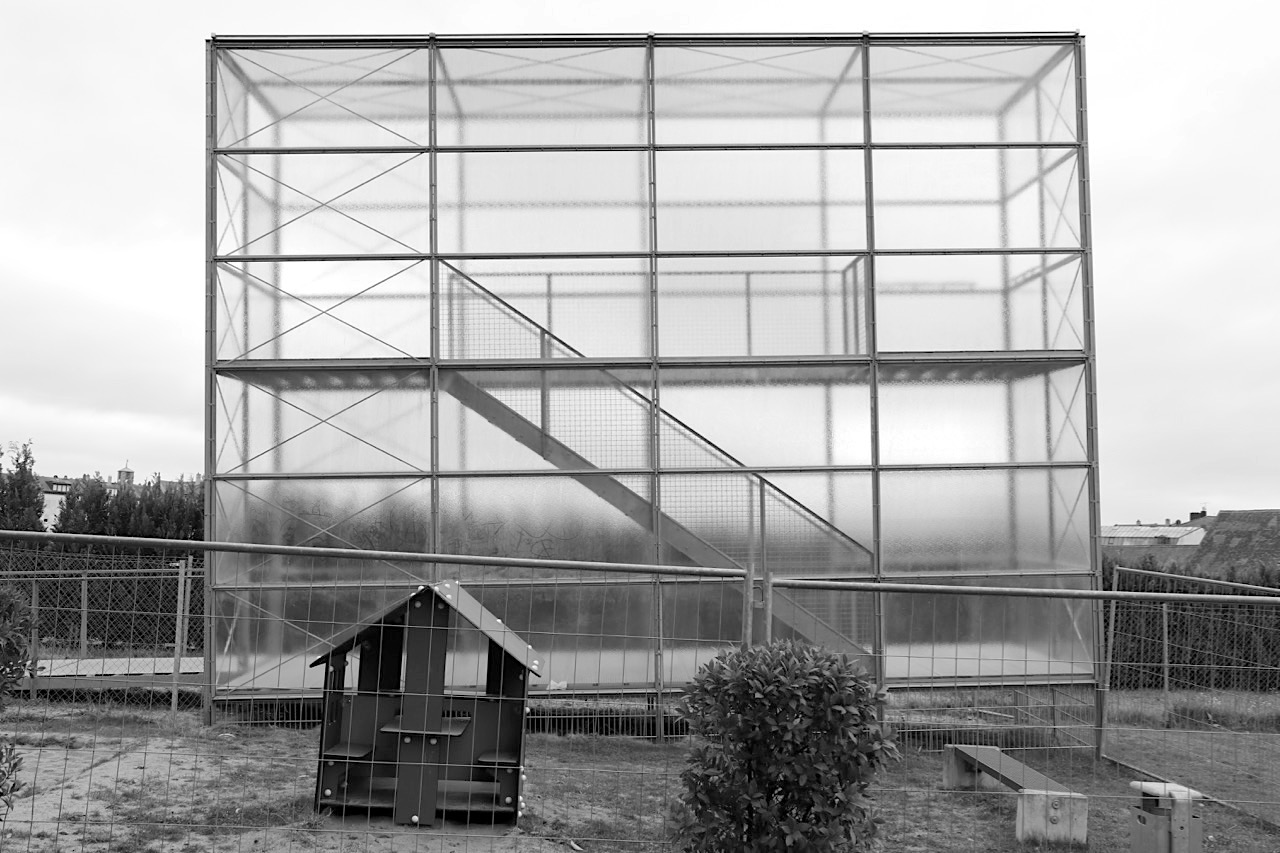 Gärtnerstadt-Aussichtsplattform. Entwurf: Stefan Giers, Fertigstellung: 2012