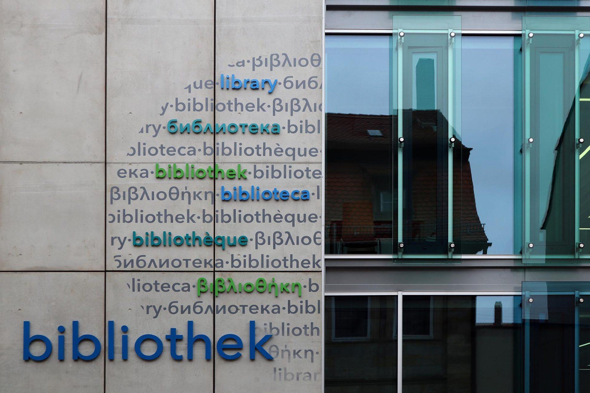 Teilbibliothek 4 Burgershof. Teilbibliothek 4 Burgershof Planer: Meyer und Partner, Bayreuth, Fertigstellung: 2004. Erweiterungsbau: 2017.