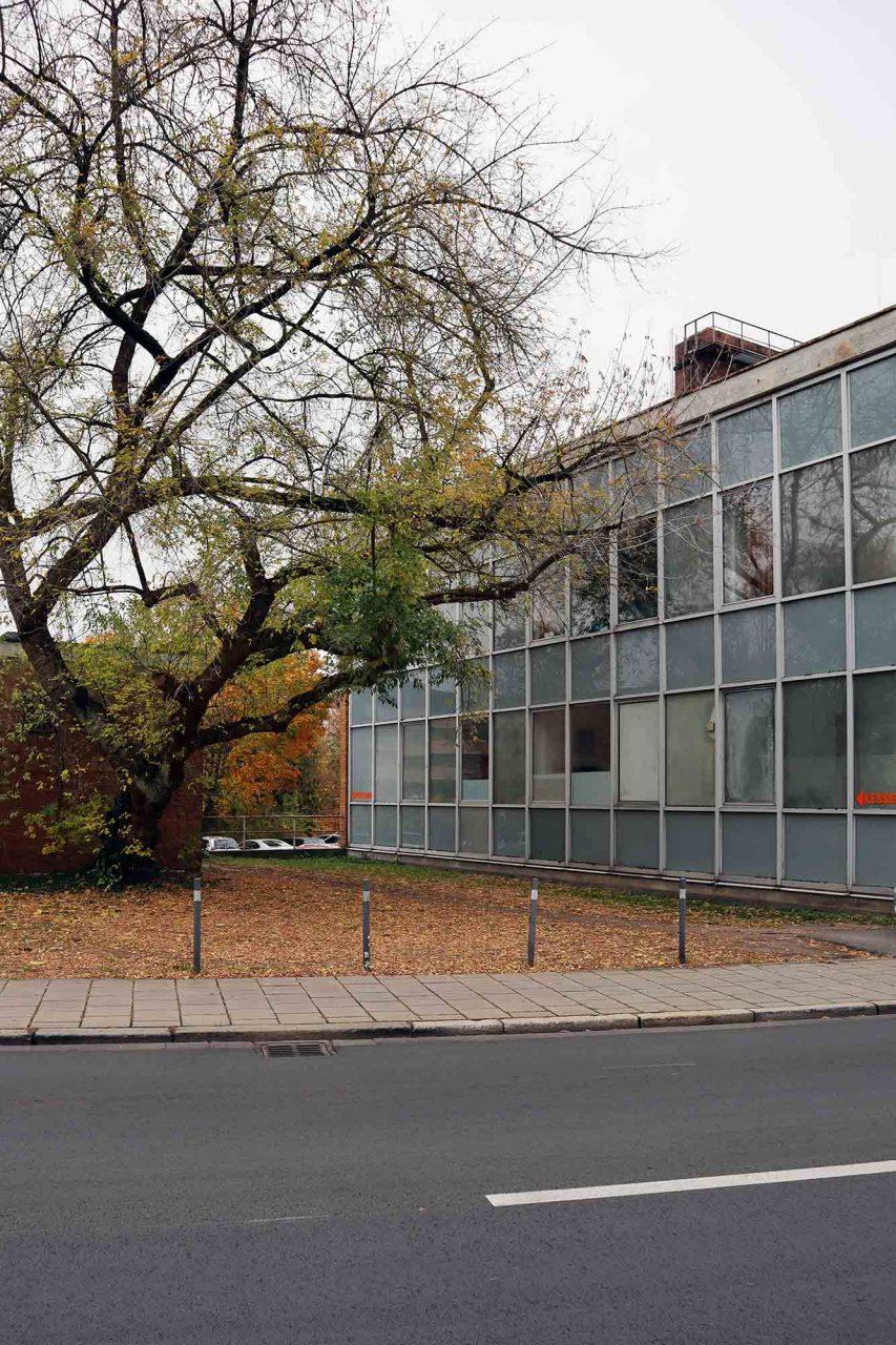 Kesselhaus. Rothenburger (1919–1999) war Leiter des Bamberger Hochbauamtes und gilt als Architekt der Bamberger Moderne.