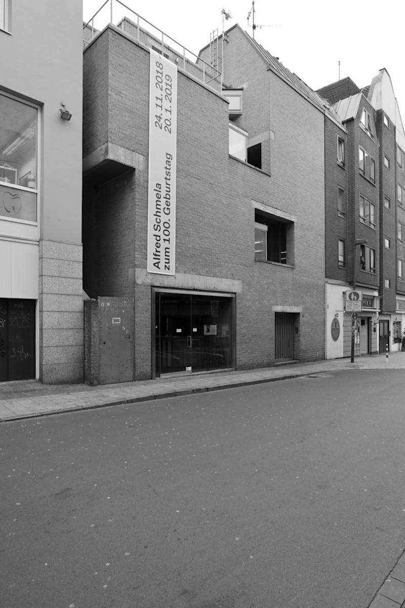 Schmela Haus. Entwurf: Aldo van Eyck, Fertigstellung: 1971