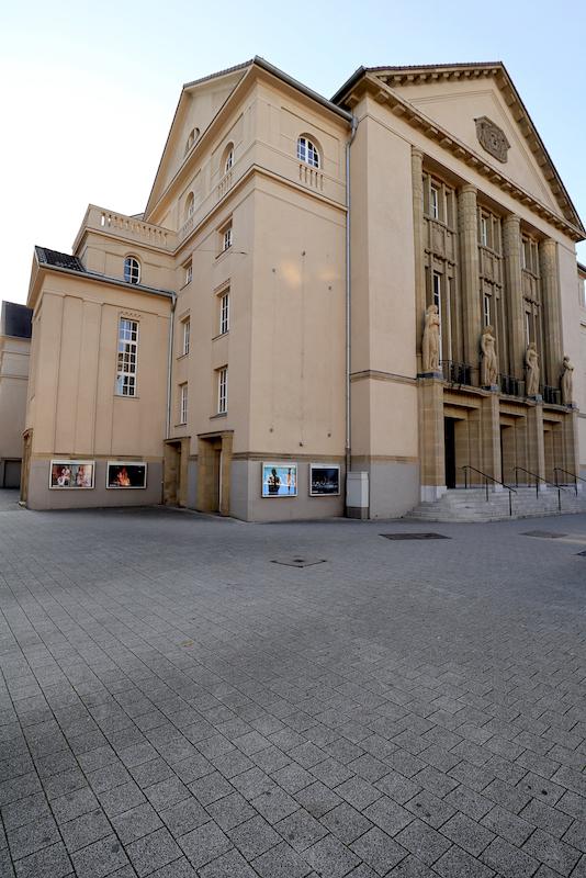 Theater Hagen. Das Städtische Schauspielhaus wurde 1911 ...