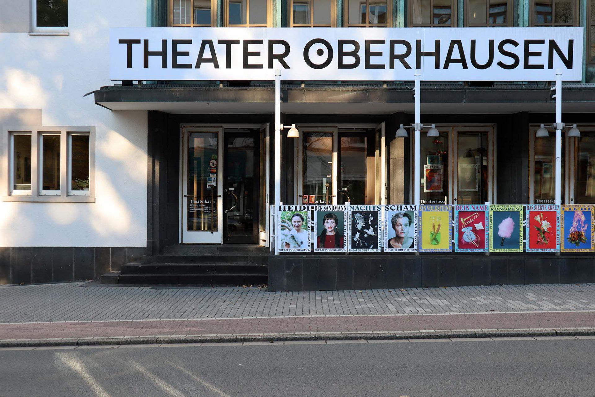 Theater Oberhausen. Mit seinem flexiblen Raumkonzept ist er Ort für experimentelle Theaterformen und für eine Bar.